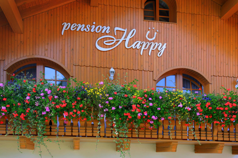 Pension in Spindlermühle (Špindlerův Mlýn)